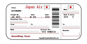 Delta Air Lines   Print Boarding Pass Delta Flight   Delta Airlines    Delta Boarding Pass Template