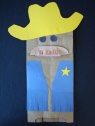 Cowboy-Western Crafts for Kids