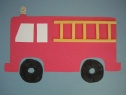 Fire truck fireman Crafts for Kids