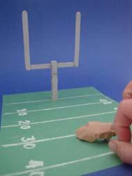 Preschool crafts for kids mini football game sports for Football crafts for preschoolers