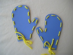 Here s what you ll need   Mitten Crafts For Preschoolers