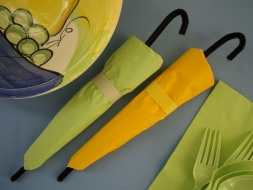 Painted Umbrella - Martha Stewart Crafts - Delicious Food Recipes