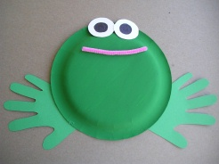 No comment for \ Easy Paper Plate Frog Crafts\  & Easy Paper Plate Frog Crafts | Preschool Education for Kids