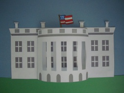 how to make 3d white house with paper