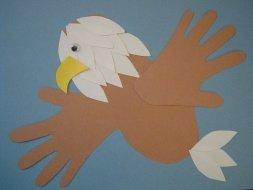 Handprint Birds: